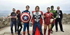 The Avengers. All photo credits go to BeerAndWeed 2013.