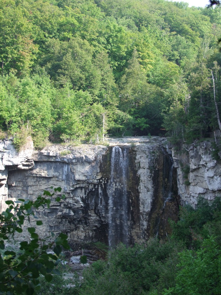 The falls - incredible.