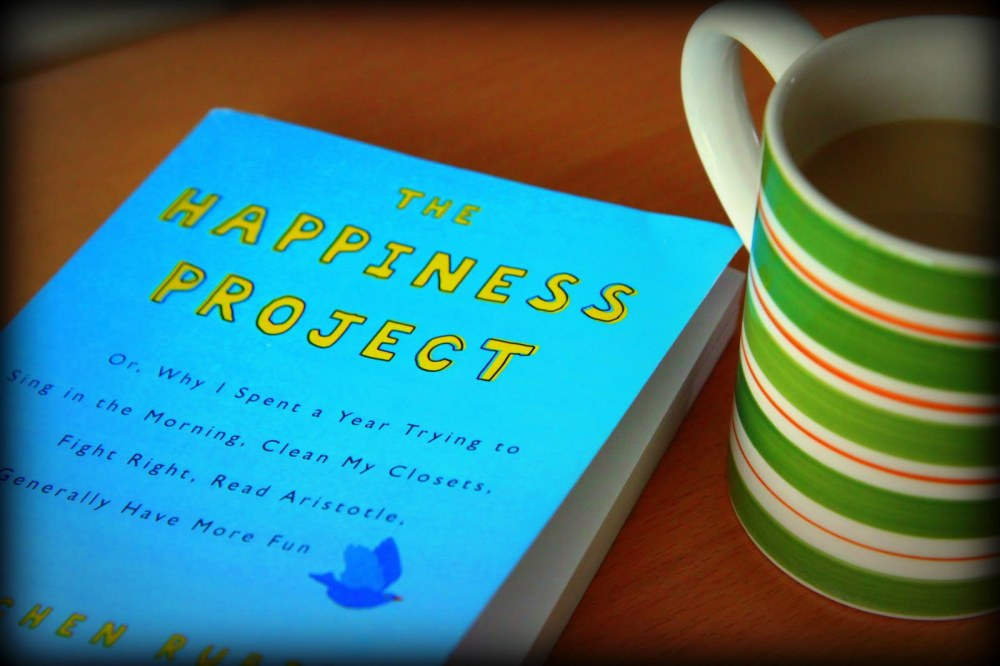 Gretchen Rubin's book entitled The Happiness Project is a great resource for joy-seekers.