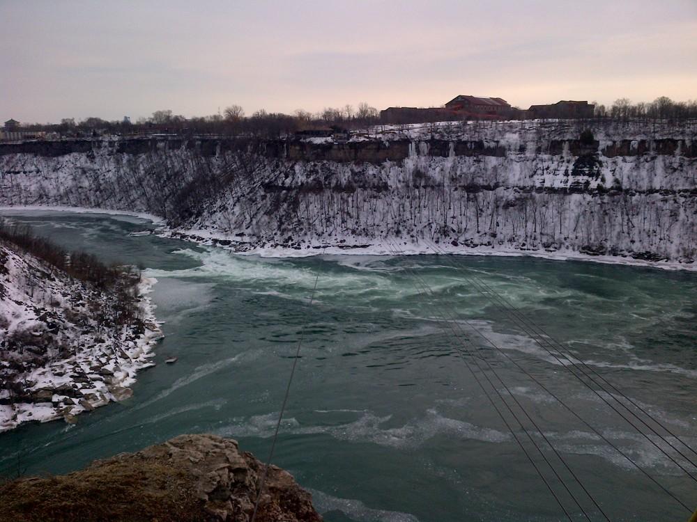 The Niagara Whirpool.