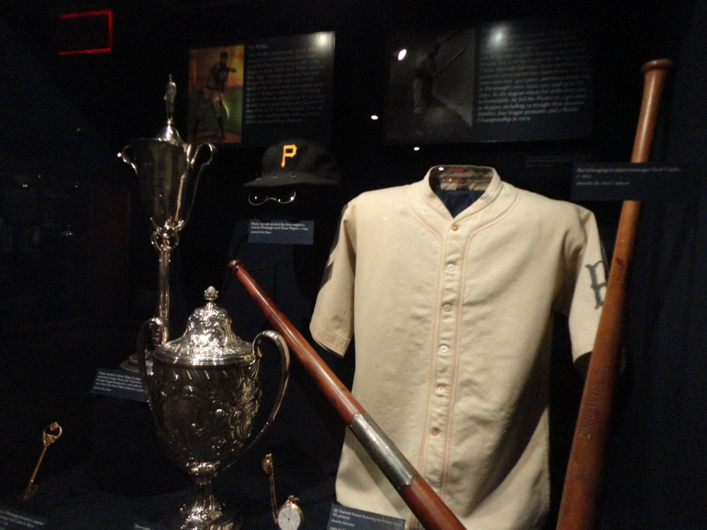 Too many exhibits to count at the Baseball Hall of Fame and Museum - this is just one example.
