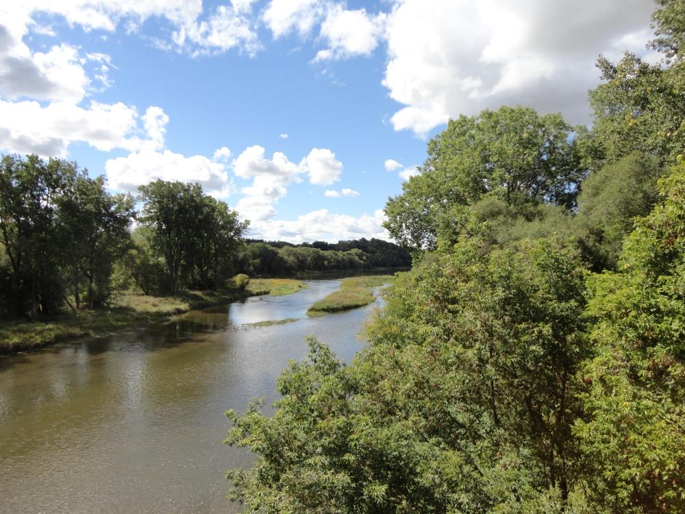 The Grand River.