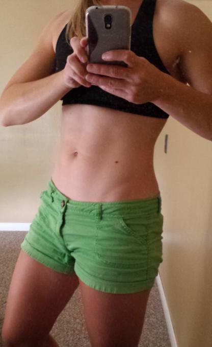 Fitness selfie.