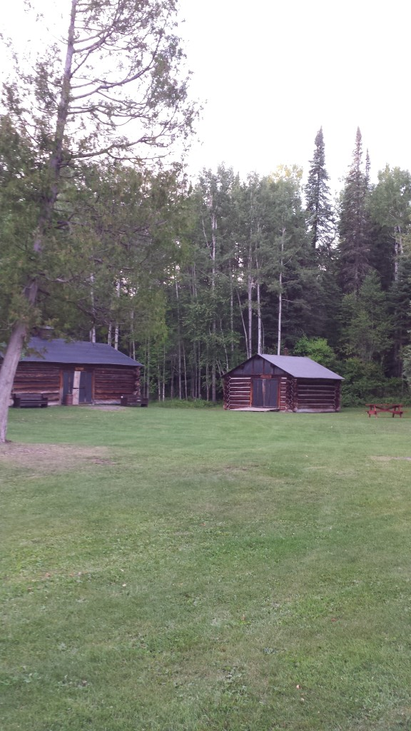 Replica 1910 Logging Camp.