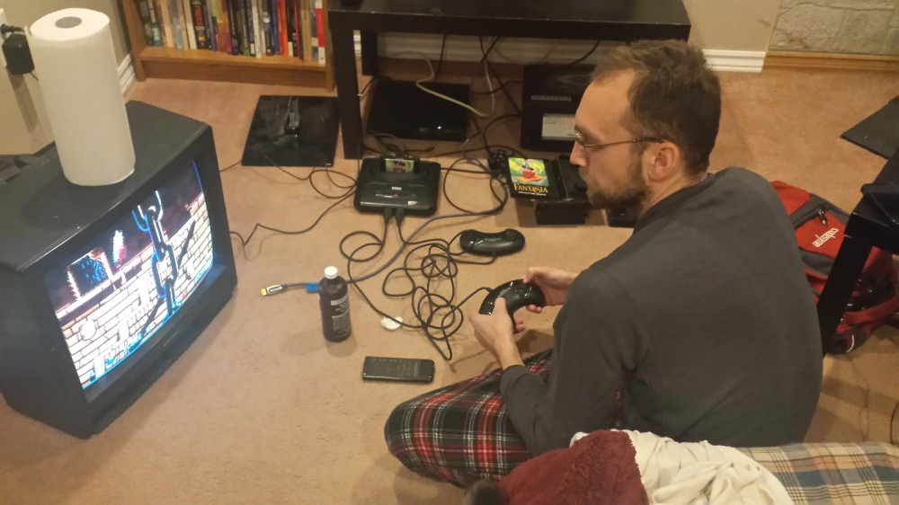 Bringing youthful memories back to life with the Sega Genesis!