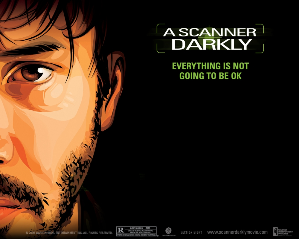 Keanu Reeves in A Scanner Darkly.