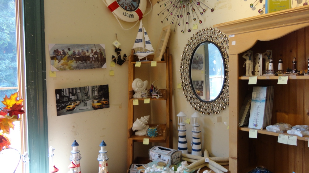 A cottage-themed room in the upstairs of the building, perfect for summertime!