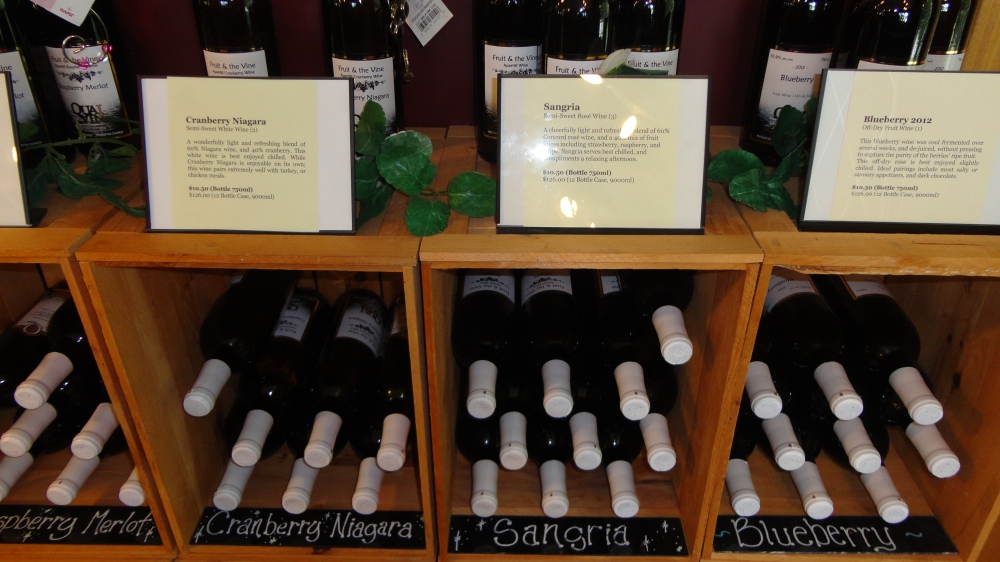 A vast selection of delicious wines!
